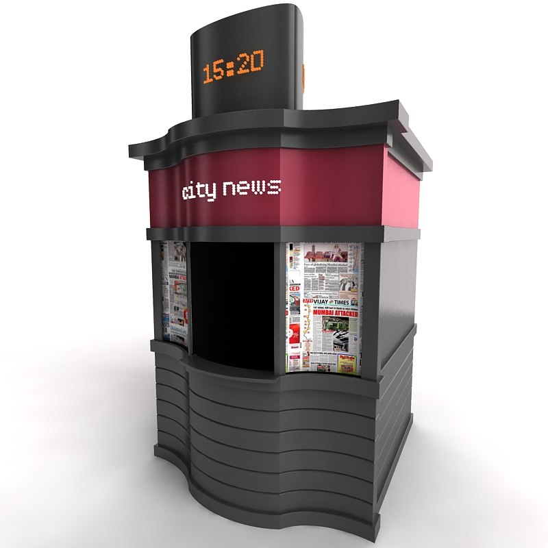 urban kiosk 3ds