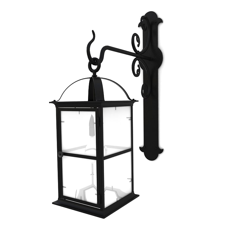 Wall Mounted Street Lamps : max wall street lamp 03