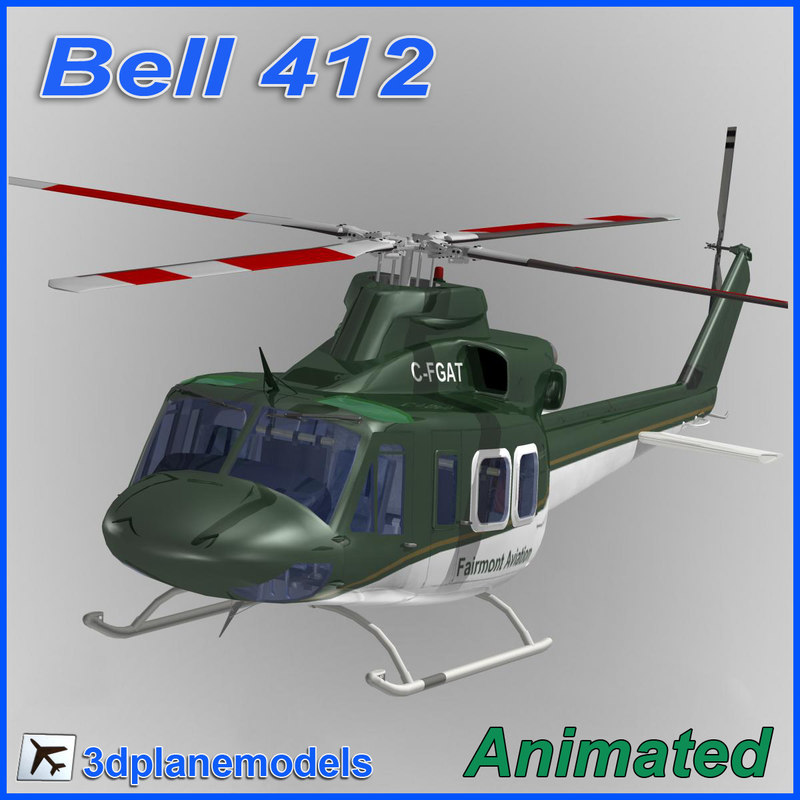 Bell 412 Private livery 2