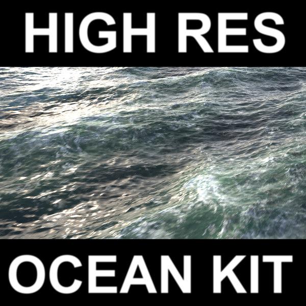 Ocean Kit 3D Models