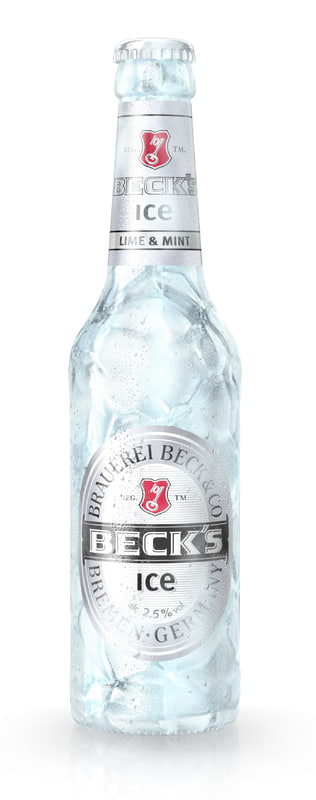 Becks Ice Bottle
