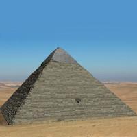 Pyramid of Khafre 3D models