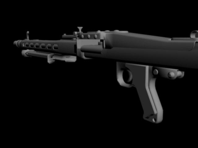 3dsmax german ww2 gun