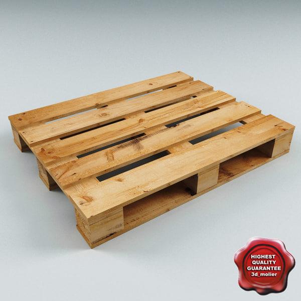 Wood Pallet 3D Models