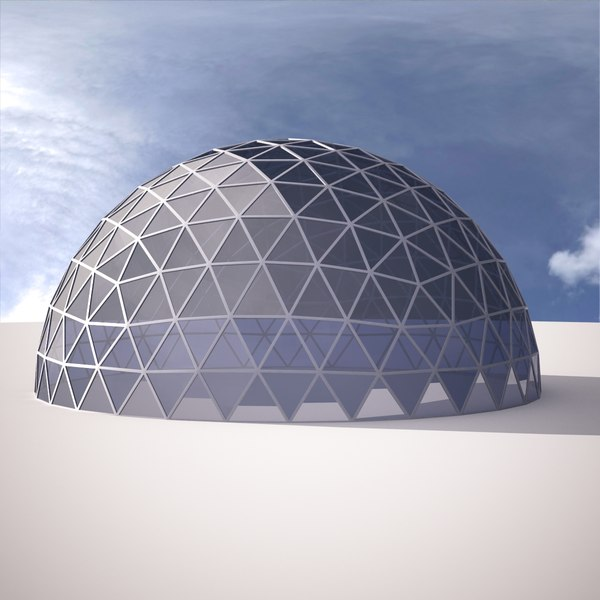 3d 6frequency models max 3ds ige obj sldpr - The geodesic dome in connecticut call of earth ...