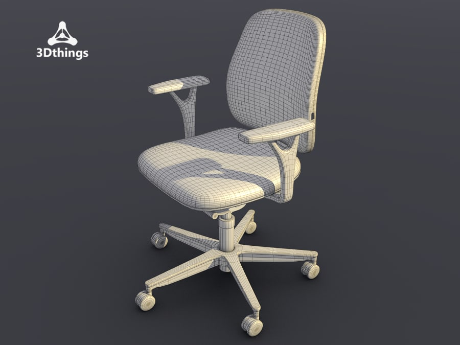 Early Bird Swivel chair with normal height backrest_04.png