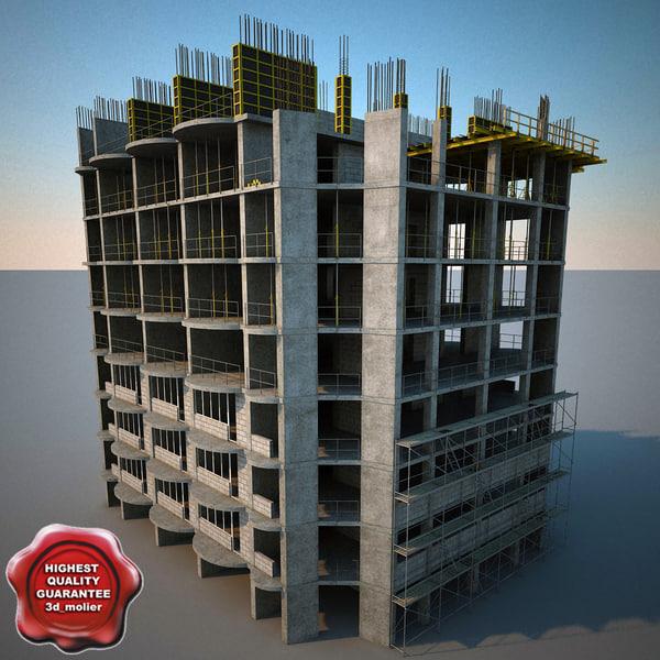 Building Construction V4 3D Models