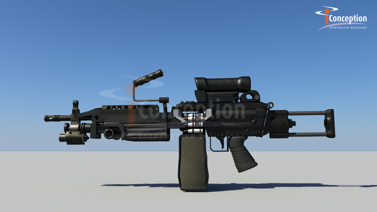 mini mi machine gun