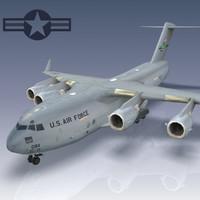 Boeing C-17 Globemaster 3D models