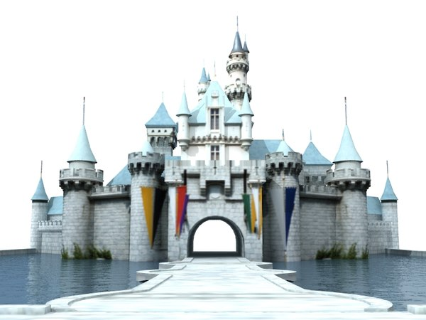 Disneyland Castle 3D Models