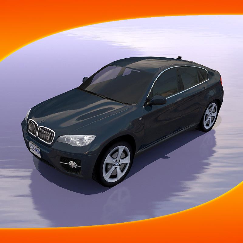 Bmw X6 Suv: Maya Bmw X6 Car