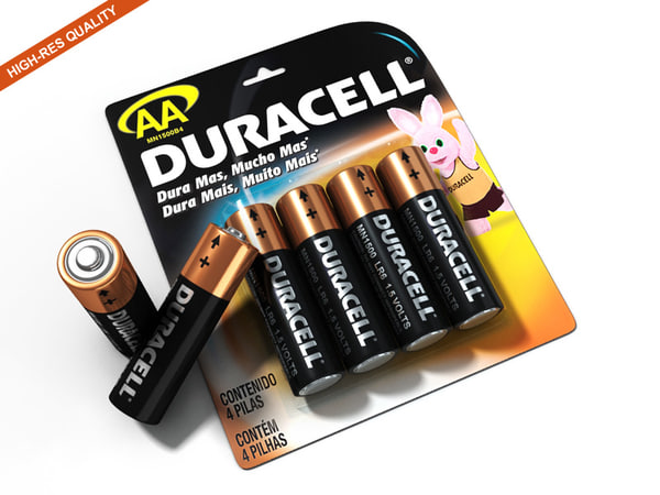 battery 3D Models