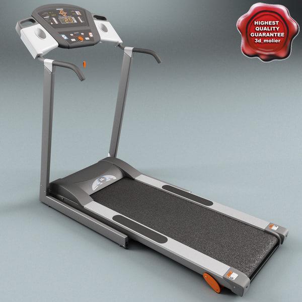 Treadmill V2 3D Models
