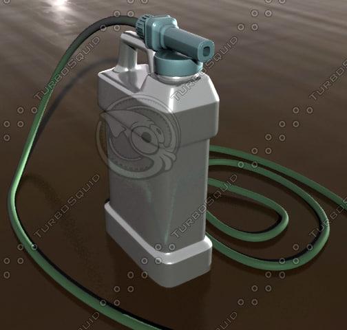 Fertilizer Sprayer 3D Models