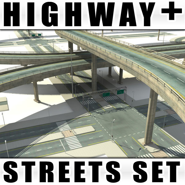 Streets + Highways Collection Texture Maps