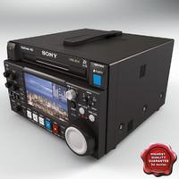 Sony PDW-F1600 3D models