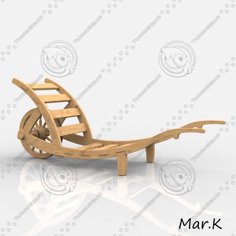 wheel-barrow