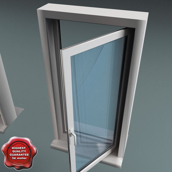 Plastic Window V4 3D Models