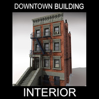brownstone 3D models
