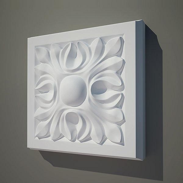 Moulding e09 3D Models