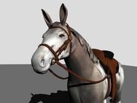 Mule 3D models