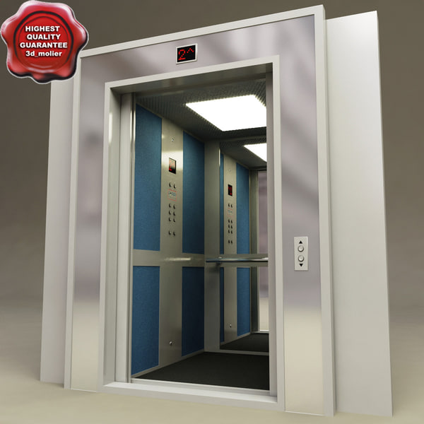 Lift Interior V1 3D Models