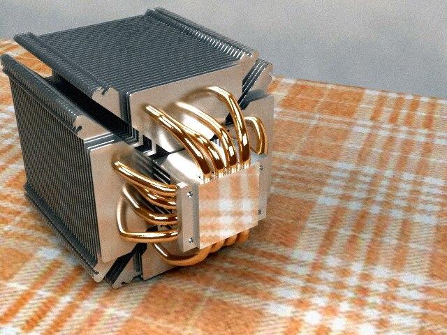 Scythe ninja 3 Cpu cooler heatsink