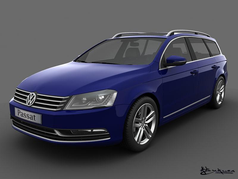 Volkswagen Passat Estate 2011