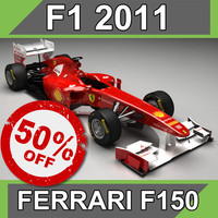 ferrari f150 3D models