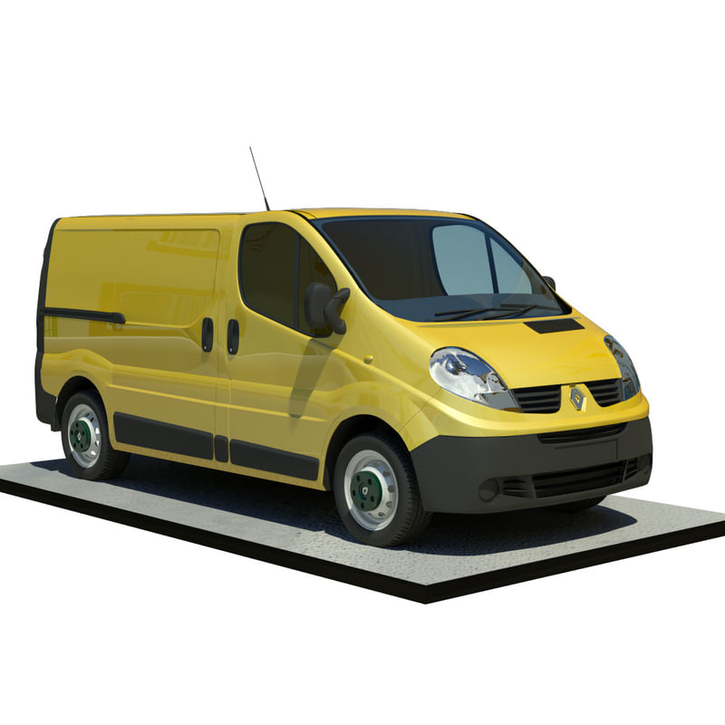 3ds max renault trafic l1h1