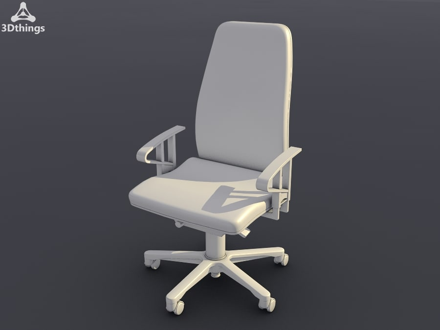 Wien Swivel chair with 3D adjustable armrests