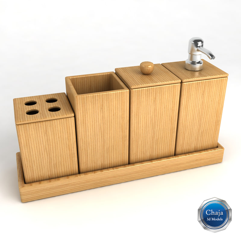 Tumblers 3d models for 3d bathroom accessories