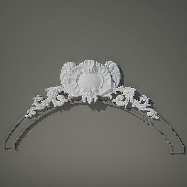 Moulding e18 3D Models