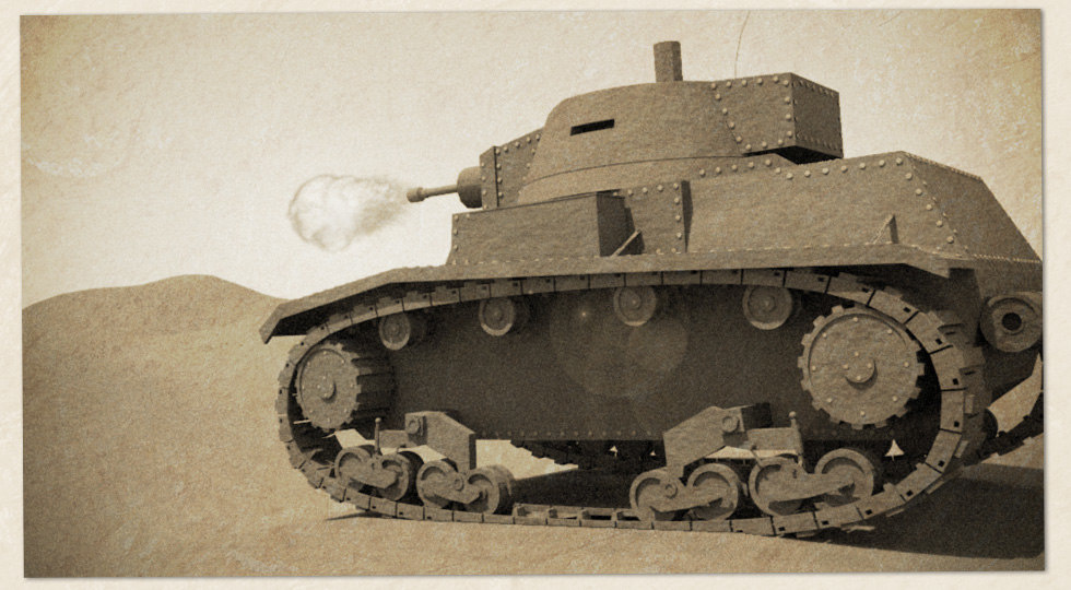 7TP Polish Light Tank
