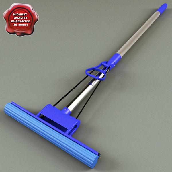Sponge Mop 3D Models