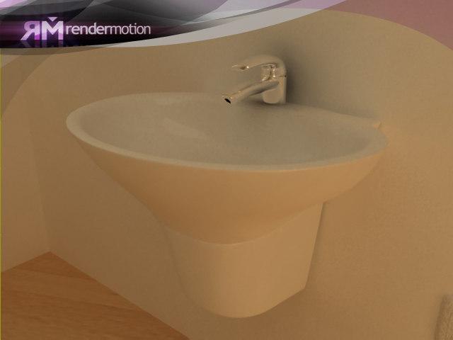 D1.C6.03 Built Sink-Lavamanos empotrable
