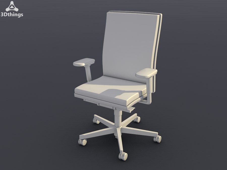 mr 24 Swivel chair with hight backrest