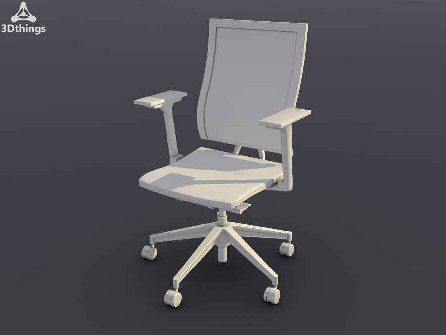 Swivel chair with membrane-covered backrest_01.jpg