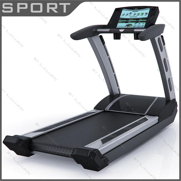 Treadmill BH Hi Power SK6950tv 3D Models