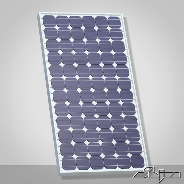 Solar Panel 3D Models