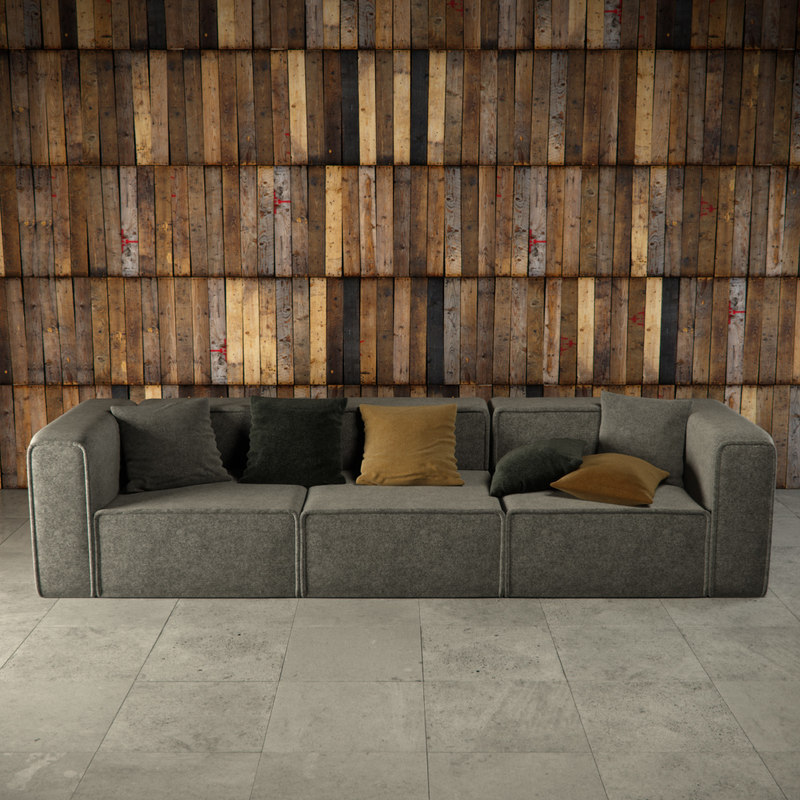 3ds Max Moderne Carmo Sofa