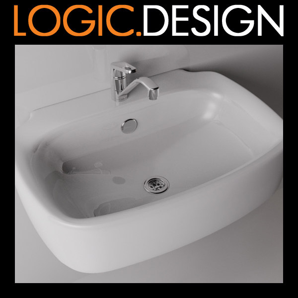 Sink with tap 3D Models