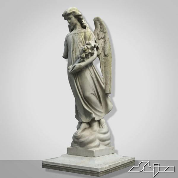 Statue V7 Broken Angel 3D Models