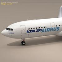 Airbus A300 3D models