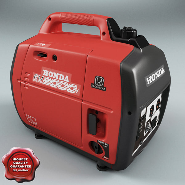 Generator Honda Eu2000i 3D Models