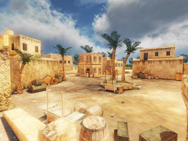 Game Environment 3D Models