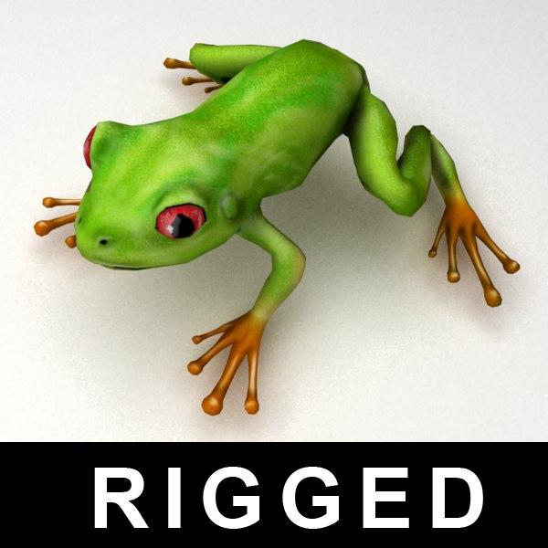 Frog 3D Models