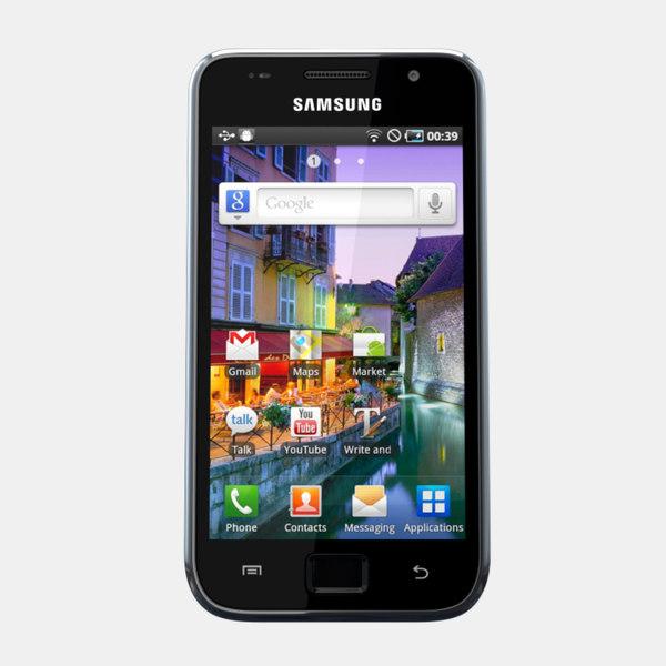 Samsung I9003 Galaxy SL 3D Models
