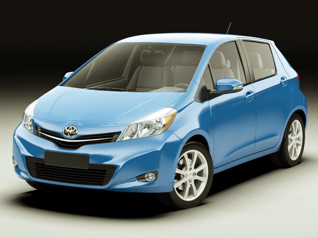 Toyota Yaris Vitz Jewela 2012