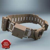 batman belt 3D models